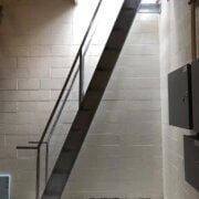 custom steel stairs