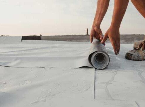 Basic PVC Roof Sheets Cutting
